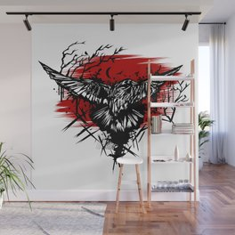 Crows Night Wall Mural
