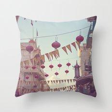 Chinatown Throw Pillow