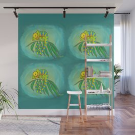 Colorful Chameleon! Wall Mural