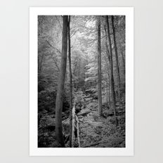 In the thick of it Art Print
