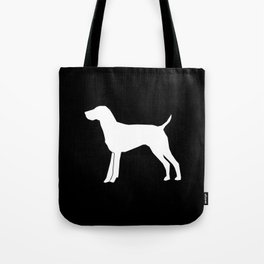 German Shorthair Pointer dog breed pet portraits dog silhouette unique dog breeds Tote Bag
