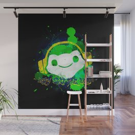 Let's drop the beat! Wall Mural