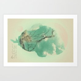 A New Planet Is Born Art Print