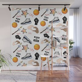 THE HATE U GIVE - PATTERN Wall Mural