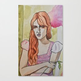 Florence High as Hope Canvas Print