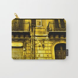 Abandoned Yellow Sicilian Sound Carry-All Pouch