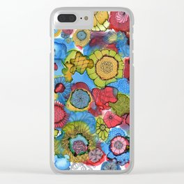 Pop a doodle Clear iPhone Case