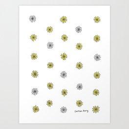 Mini Daisies Art Print
