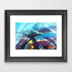 Tsunami II Framed Art Print