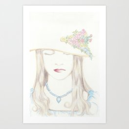 noblewoman Art Print