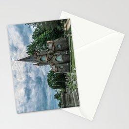 Billings Mausoleum Stonington Cemetery Connecticut Graveyard Stationery Cards