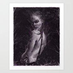 Madness & Me Art Print