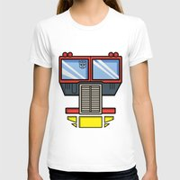 optimus prime T-shirts featuring Transformers - Optimus Prime by CaptainLaserBeam