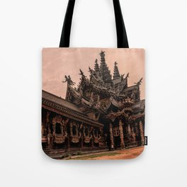 The Sanctuary of Truth Tote Bag