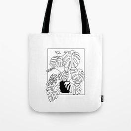 Magic Monstera Tote Bag