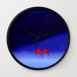 Engaged With Oblivious Wall Clock