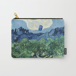 Tardis Flying Painting Carry-All Pouch