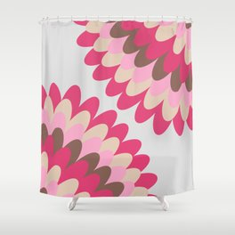 Dahlia at Home Shower Curtain