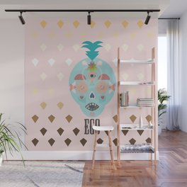 Ananas Wall Mural