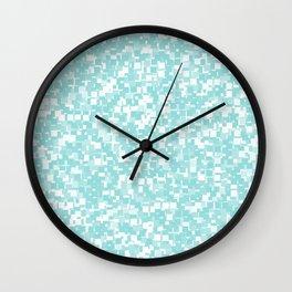 Limpet Shell Pixels Wall Clock
