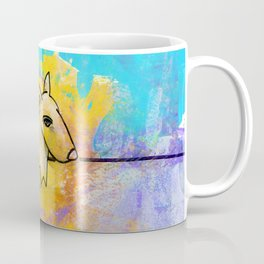 Dog No.1a by Kathy Morton Stanion Coffee Mug