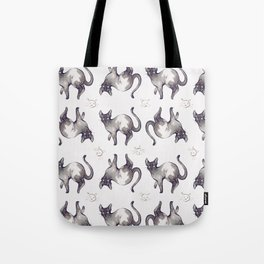 Pattern Cats Tote Bag