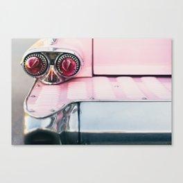 Pink Cadillac (rear) Canvas Print