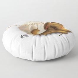 Monsieur Croquis Floor Pillow