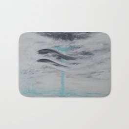 """Wind And Water"" Painting1of 2 - Elements Series Bath Mat"