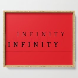 INFINITY Serving Tray