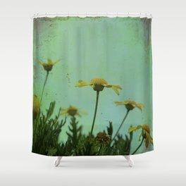 Fragile Flowers Shower Curtain