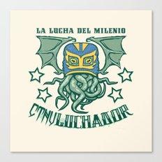 EL CTHULuchador Canvas Print