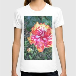 Tropical hibiscus T-shirt