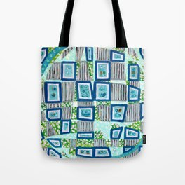 27 Pictures Tote Bag