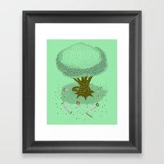 The Toughest Tree Framed Art Print
