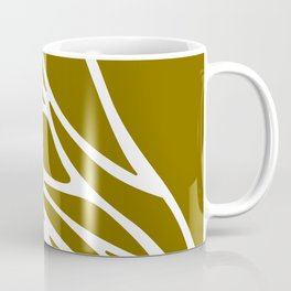LINES DESIGN EXOTIC ON GOLD Coffee Mug