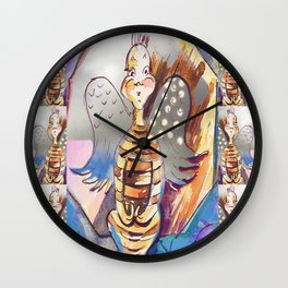 """Jester Bee...to """"Be"""" Wall Clock"""