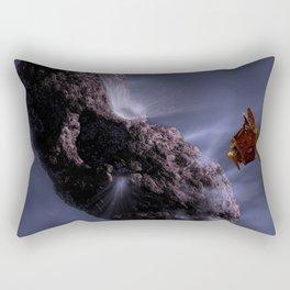 620. Comet Close Encounter Rectangular Pillow