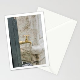 the tap. Stationery Cards