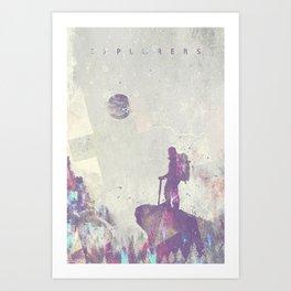 Explorers I Art Print