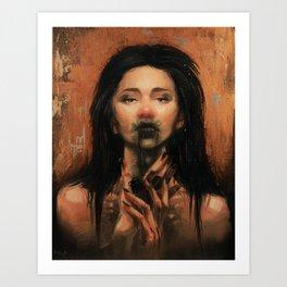 Caustic Art Print