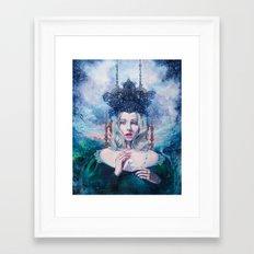 Self-Crowned Framed Art Print