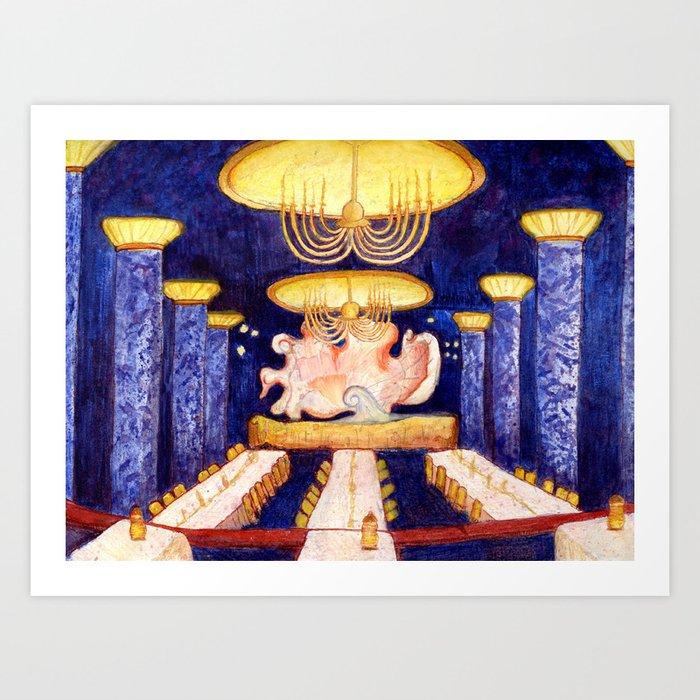 The Blue Room Art Print