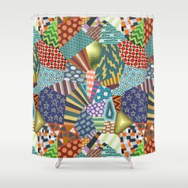 Pattern Explosion 2 Shower Curtain