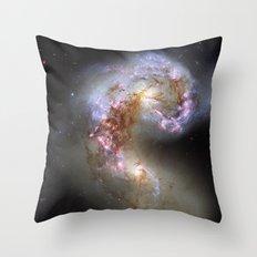 The Antennae Galaxies Throw Pillow