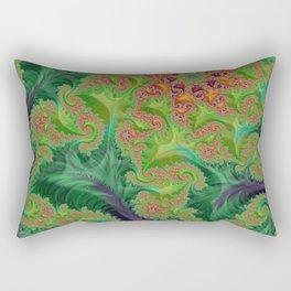 Edible Flower - Fractal Art Rectangular Pillow