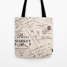 Paris Market 2 Tote Bag