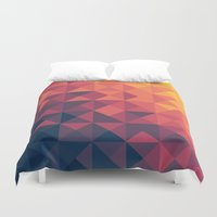 infinity Duvet Covers featuring Infinity Twilight by Picomodi