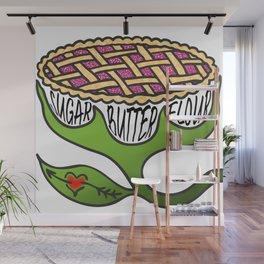 Sugar Butter Flour Wall Mural