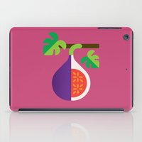 fig iPad Cases featuring Fruit: Fig by Christopher Dina